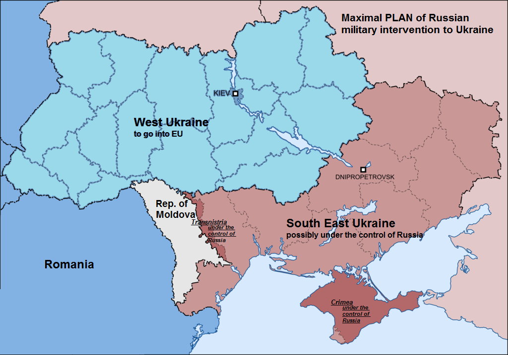 EODE - LM Poutine veut neutraliser Ukraine Moldavie (2014 04 03) ENGL 3