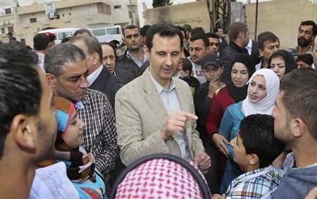 EODE PO - ELECTIONS présidentielle en Syrie (2014 04 21) FR