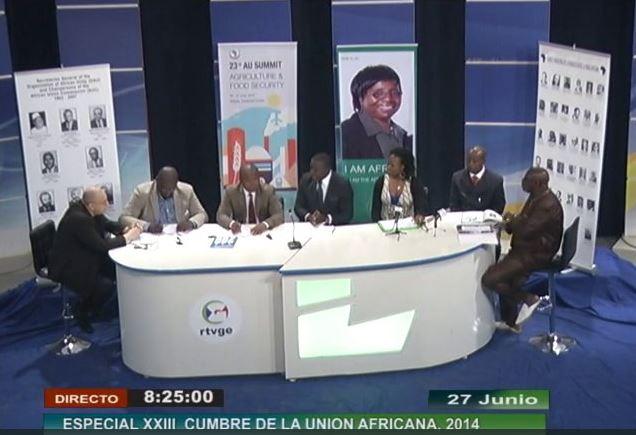EODE-TV - LM sur RTVGE 3 - quels leaders et m+®dias pr l'afrique(2014 06 27) FR