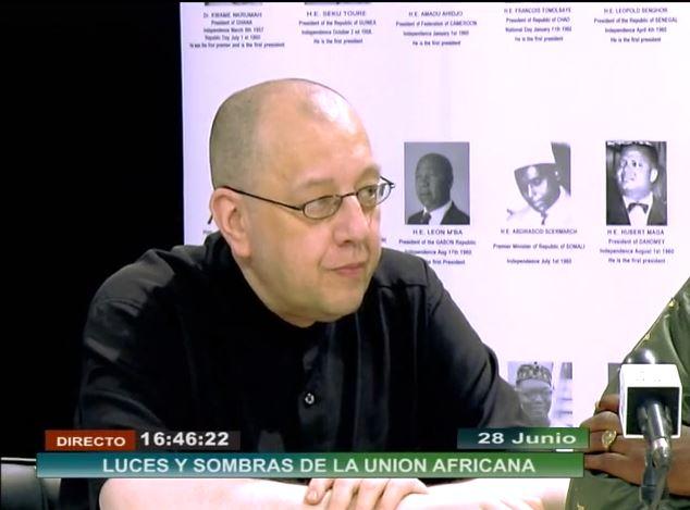 EODE-TV - LM sur RTVGE 4 - jalons pr le panafricanisme (2014 06 28) FR 1