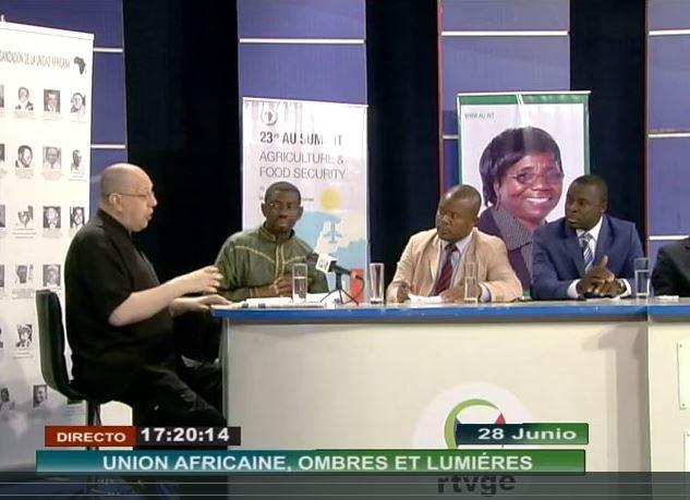 EODE-TV - LM sur RTVGE 4 - jalons pr le panafricanisme (2014 06 28) FR 2