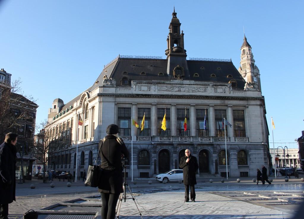 EODE-TV - AMTV djihad. belges. LM en reportage a Charleroi (2015 01 17) FR