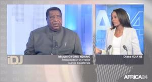 EODE PO - Africa24 interview Ambassadeur de GE à Paris (2015 05 17)  FR