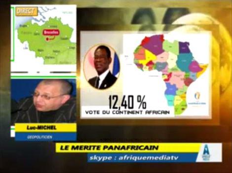 EODE-TV - DIFFUSION merite panafricain du 22 mai (2015 05 22) FR