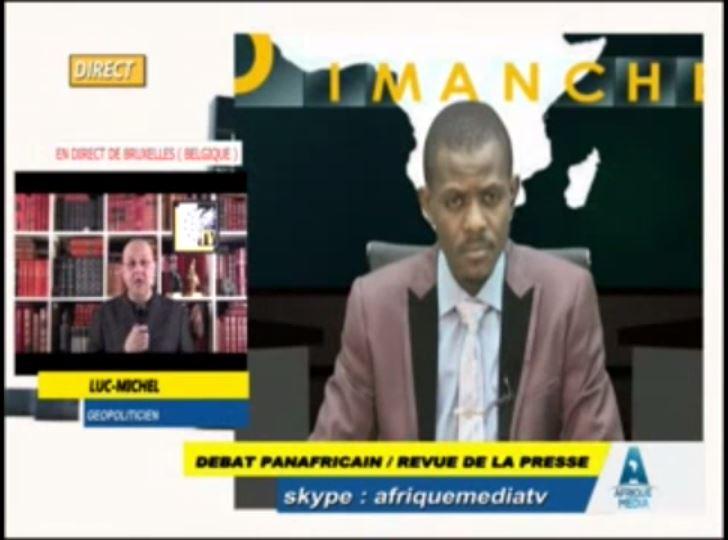 AMTV - débat panafricain du 2 aout (2015 08 02)  FR