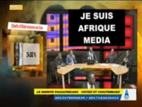AMTV - débat panafricain du 9 aout (2015 08 09)  FR