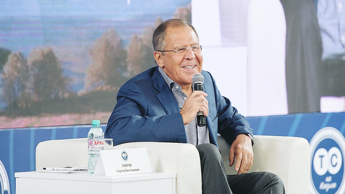 EODE - COLOR lavrov interferences  in russia (2017 08 29) FR