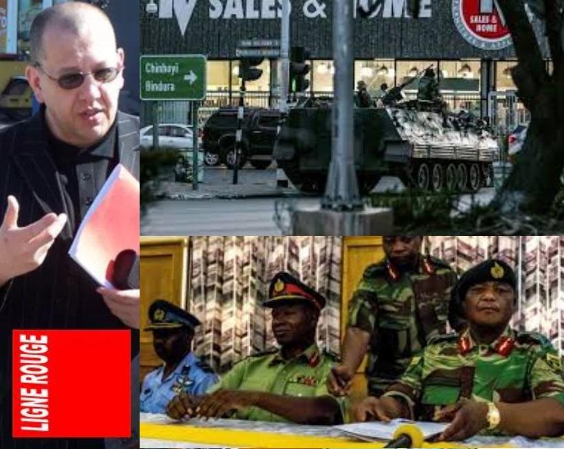 AMTV - LIGNE ROUGE LM coup zimbabwe (2017 11 16)
