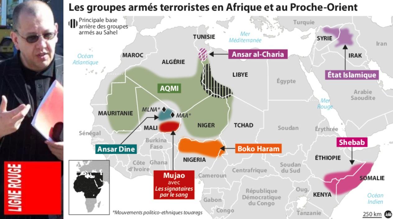 AMTV - LIGNE ROUGE LM état djihads africains (2017 12 12)