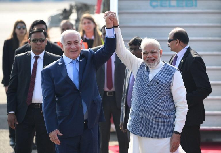 INDIA-ISRAEL-POLITCS-DIPLOMACY