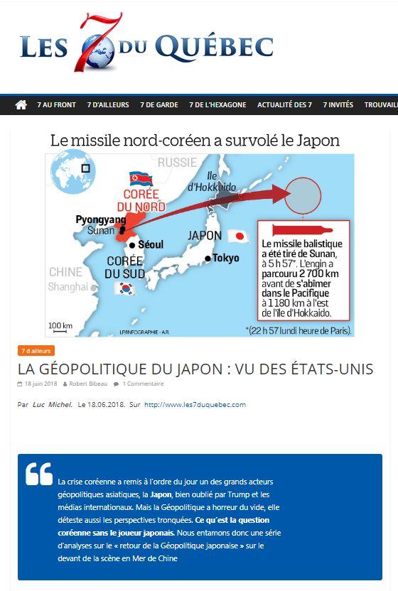 LM.NET - 7QUEBEC geopol japon vu   des usa (2018 06 18)