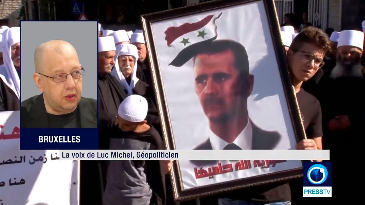 VIDEO.FLASH.GEOPOL - Syrie parité II golan - presstv (2018 08 06) FR 1