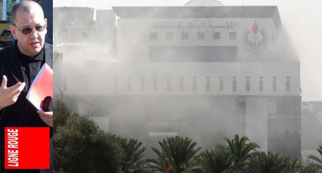 AMTV - LIGNE ROUGE LM guerre du   petrole en libye (2018 09 11)