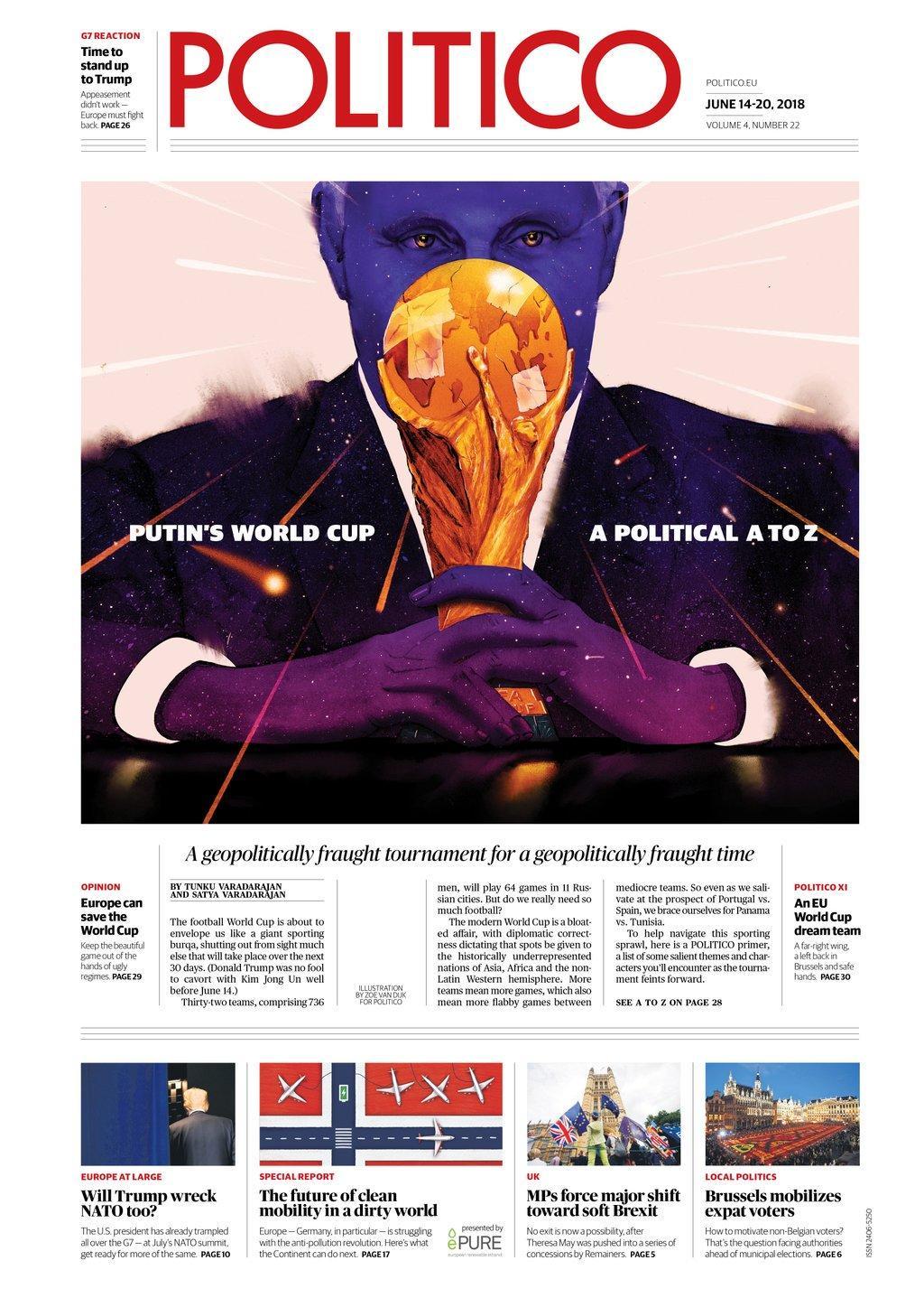 PUB LM.GEOPOL DAILY - Pub geopol du  sport (2018 10 07) FR 5