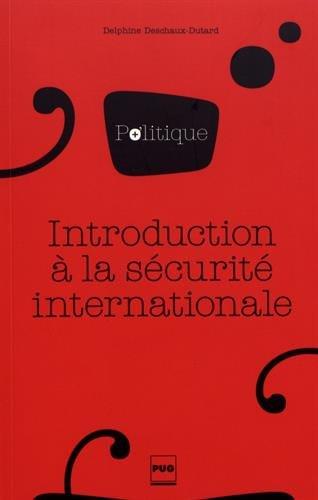 INTRODUCTION À LA SÉCURITÉ INTERNATIONALE