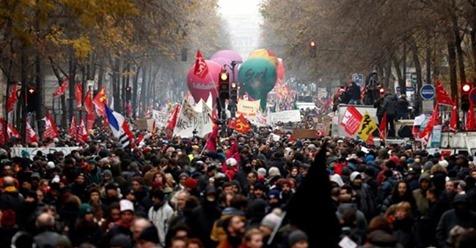 VIDEO.FLASH.GEOPOL macron crise sociale (2019 12 11) FR