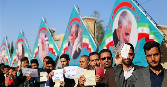 POLM I - QUESTION 002 elections iran I