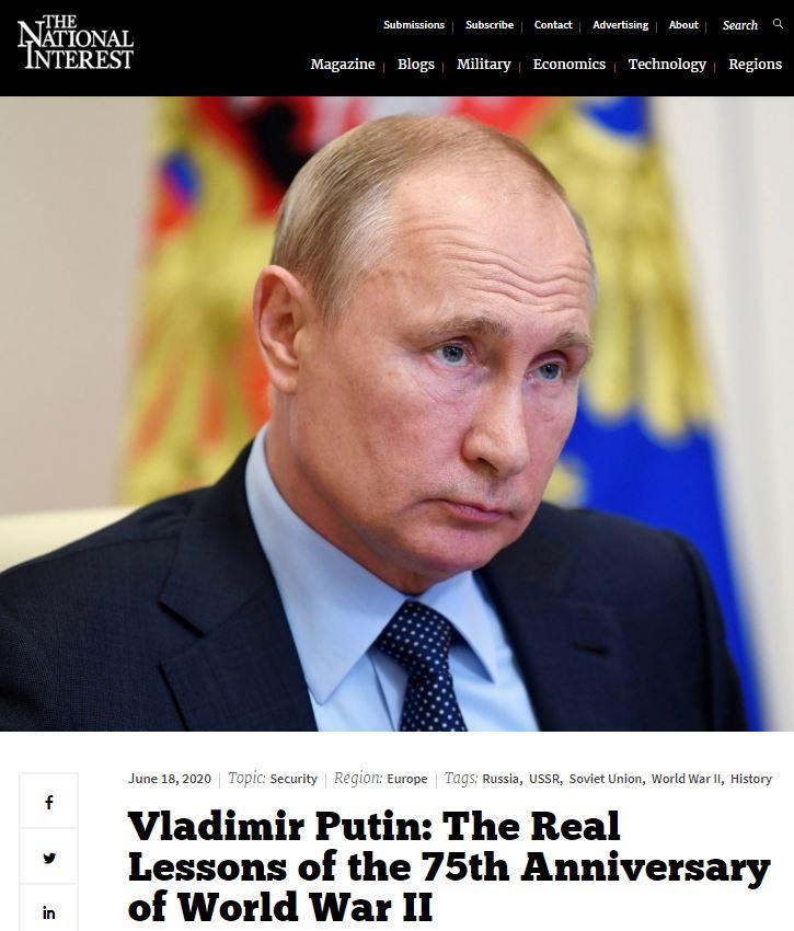 LM.GEOPOL - Poutine ctre le révisionnisme I (2020 06 22 FR