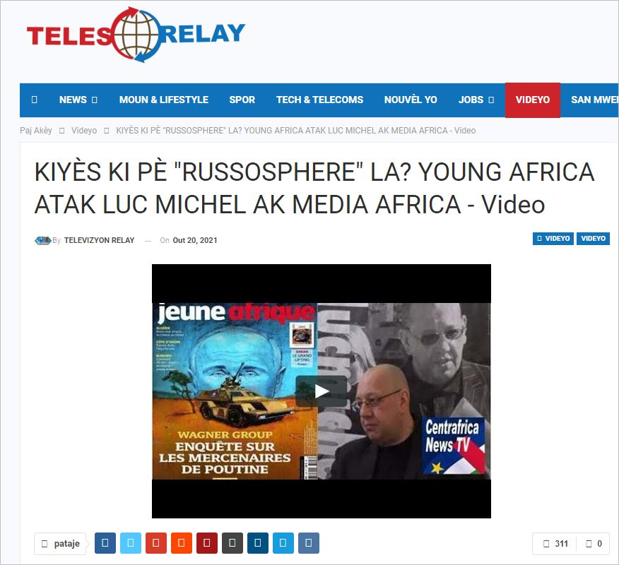 CNT - 251 reprise vidéo jeune afrique CREOLE HAITI (2021 09 01)